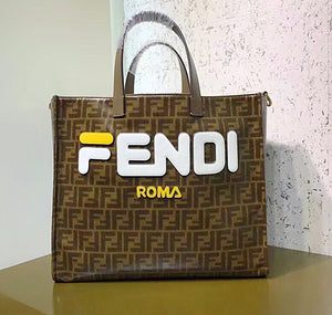 Fendi Inspired Mania Print Tote Bag