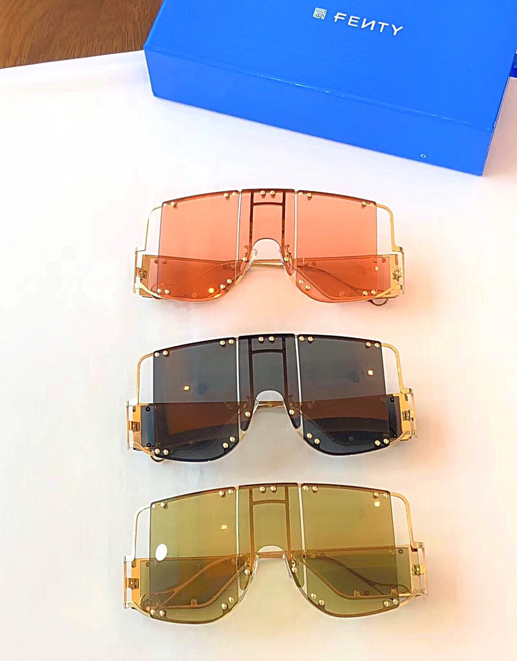 Fenty Inspired Blockt Mask Sunglasses