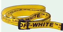 Off White Inspired Industrial Belt