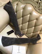 """Cassie"" Blade Over the Knee Heel Boot"