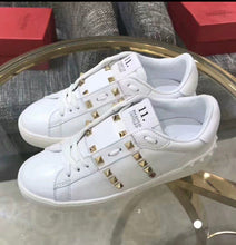 Valentino Inspired Untitled Studded Sneaker