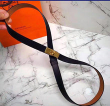 Hermes Inspired Kelly Leather Belt