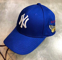 Gucci Inspired Baseball Cap Hat  with Yankees Patch