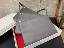 Celine Inspired Large Trio Lambskin Handbag