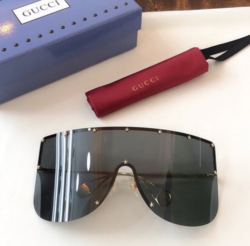 Gucci Inspired Mask Sunglasses Rivet Stars