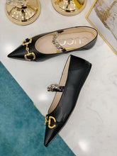 Gucci Inspired Ballet Flat With Horsebit Shoes