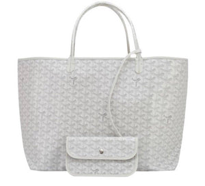 Goyard Inspired St Louis GM Chevron Tote