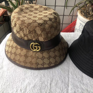 Gucci Inspired GG Supreme Canvas Bucket Hat