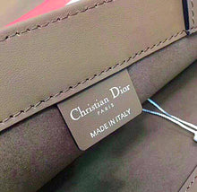 Christian Dior Inspired Multicolored Hand Painted Book Tote