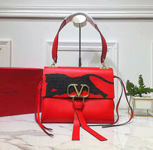 Valentino Inspired Medium V Ring Logo Bag