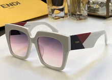 Fendi Inspired Square Women's 0263 Gradient Sunglasses