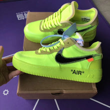 Off White Inspired Nike Air Force 1 Volt