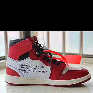 "Off White X Air Jordan ""Chicago"" Inspired Sneakers"