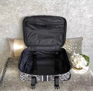 Dior Inspired Mini Travel Trolley