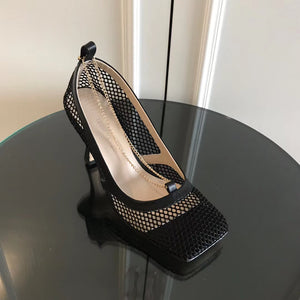 Bottega Veneta Inspired BV Stretch Pumps
