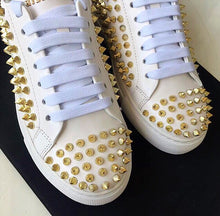 Phillipp Plein Inspired Spike Studded Sneakers