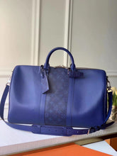 Louis Vuitton Inspired Keepall 50 Colorblock Bandouliere