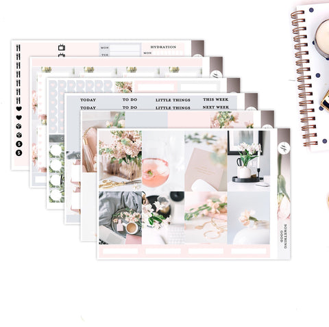 Something Good ||Weekly Planner Sticker Kit|| for Erin Condren Vertical Layout ||