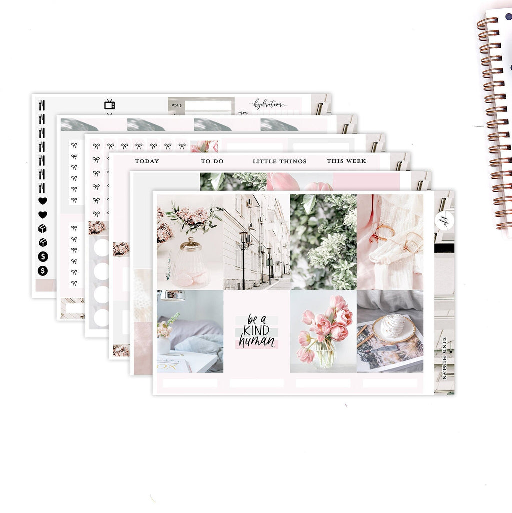 Kind Human  ||Weekly Planner Sticker Kit|| for Erin Condren Vertical Layout ||
