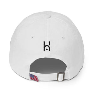 HipHop.ca Signature Cotton Cap (Black Stitch)