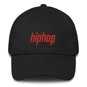 HipHop.ca Signature Cotton Cap (Red Stitch)
