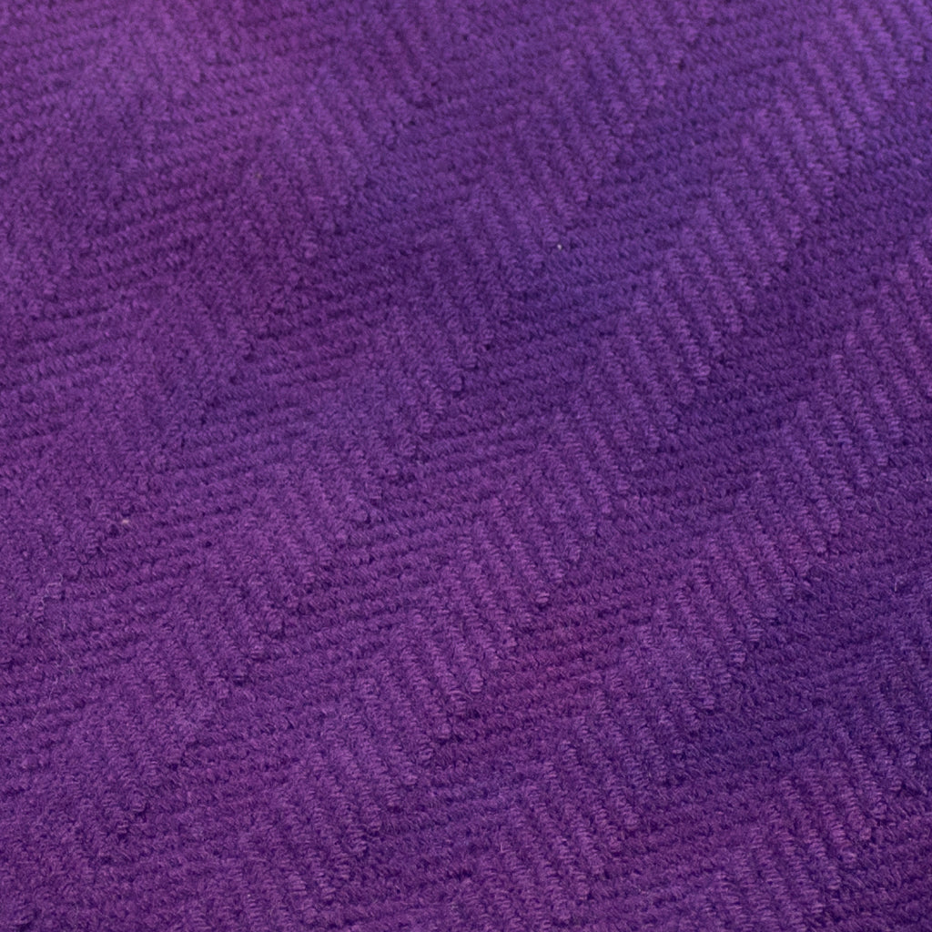 Rambouillet herringbone purple swatch
