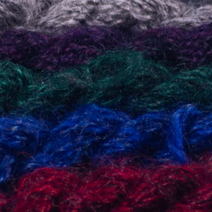 Gotland/Rambouillet dyed samples