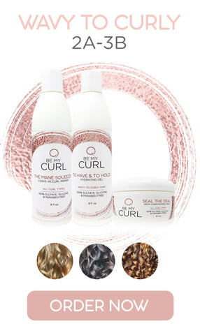 Wavy to Curly Starter Kit