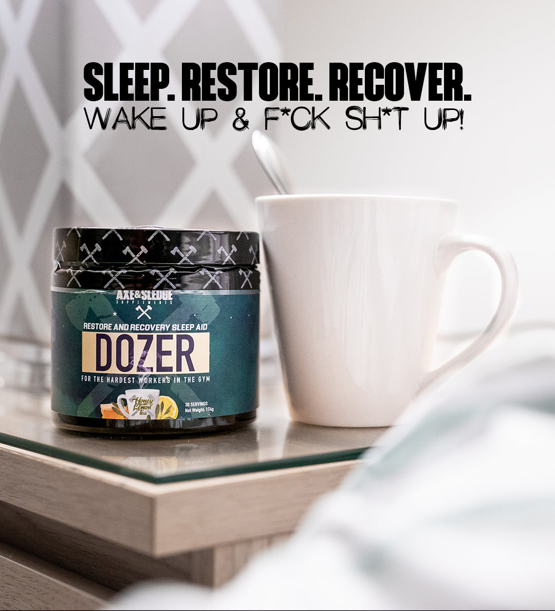 Axe & Sledge Dozer 30srv Honey Lemon Tea