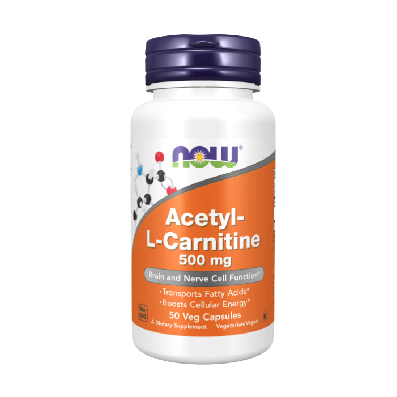 ACETYL L-CARN 500mg 50 VCAPS