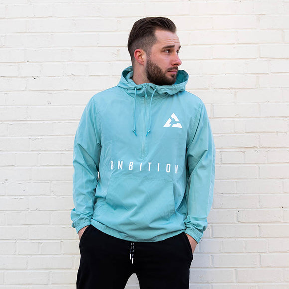 Ambition Cascade Windbreaker Aqua