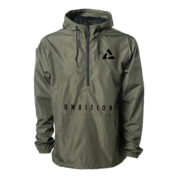 Ambition Cascade Windbreaker Military Green
