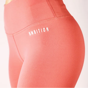 Ambition Confident Legging Rose Pink