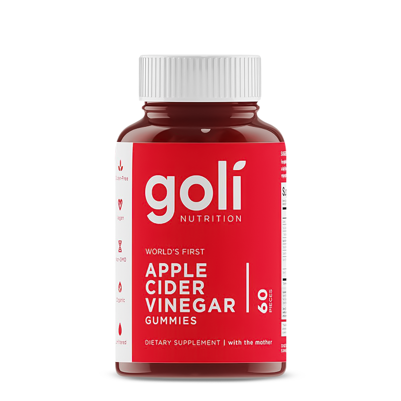 GOLI Apple Cider Vinegar Gummies 60Ct