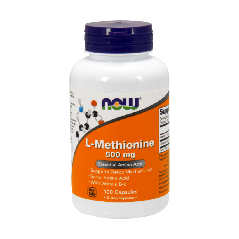 L-METHIONINE 500mg 100 CAPS