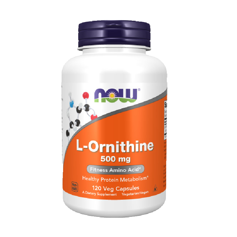 ORNITHINE 500mg 120 VCAPS