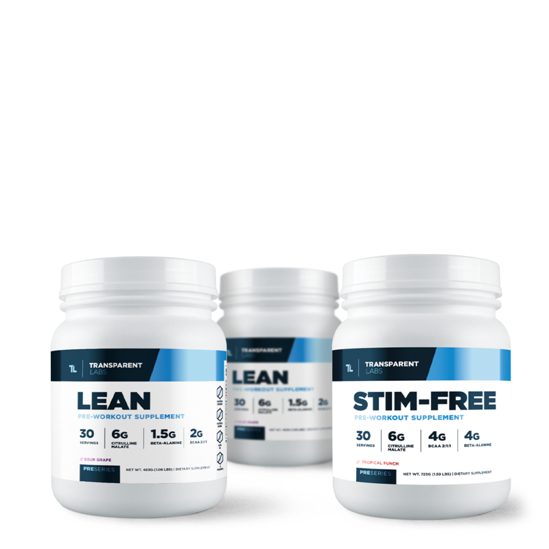3 Month Cycle Preseries Lean Pre-Workout