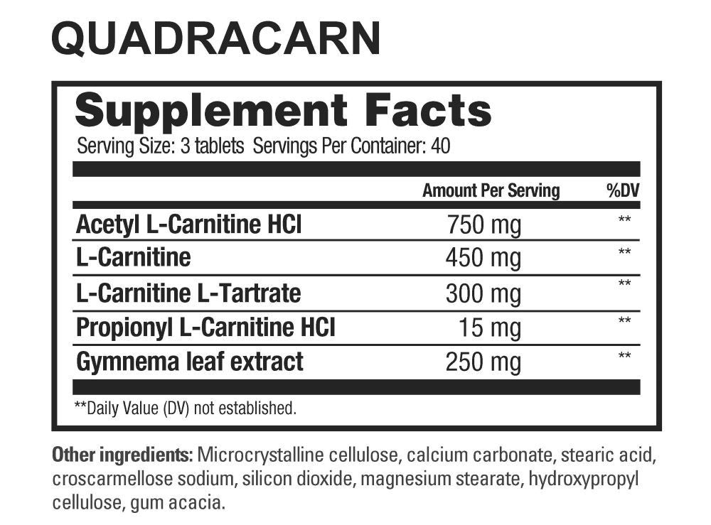 Quadracarn 120Tabs