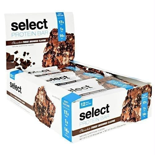PES Science Select Protein Bar Chocolate Fudge Brownie