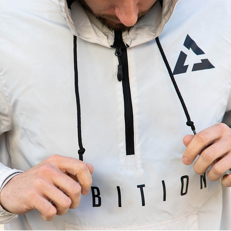 Ambition Cascade Windbreaker Smoke