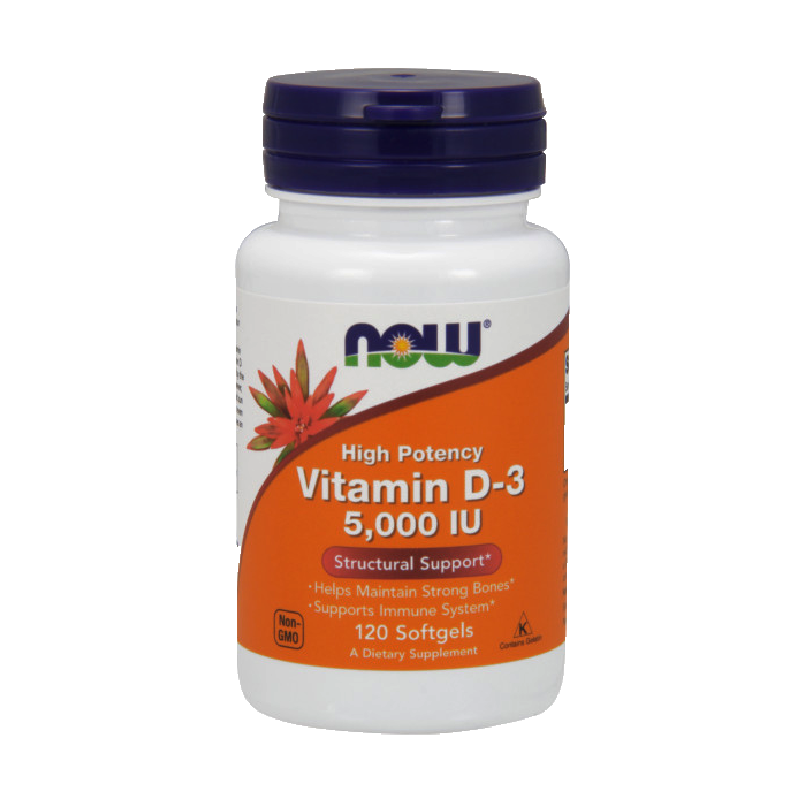 Vitamin D-3 5000IU 120softgels