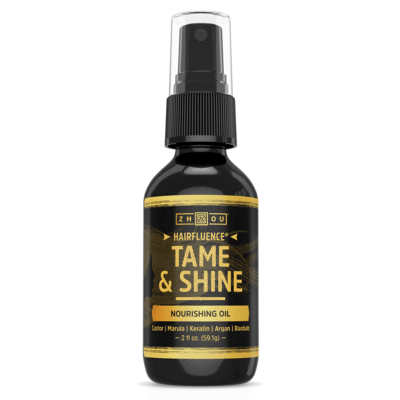 Zhou Nutrition Hairfluence Tame & Shine Spray 2oz