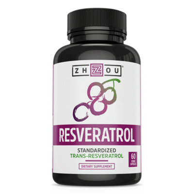 Zhou Nutrition Resveratrol 1000mg 60Caps