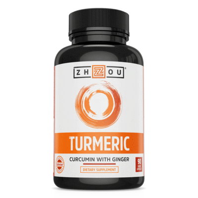 Zhou Nutrition Turmeric Curcumin with Bioperine 1650mg 90Caps