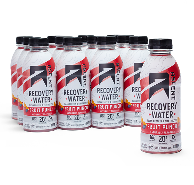 Ascent Recovery Water 12pk (IN STORE ONLY)