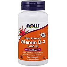 Vitamin D-3 1000IU 360softgels