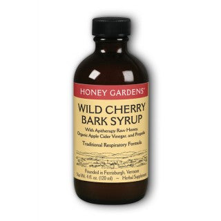 Wild Cherry Bark Syrup 4oz