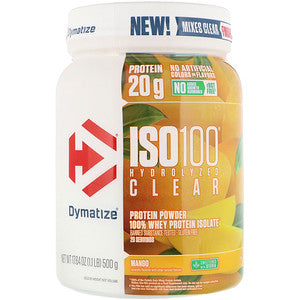 Iso-100 Hydrolyzed Clear 1.1lb