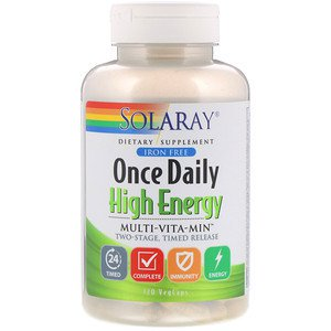 Once Daily High Energy Multivitamin I/F 120Caps
