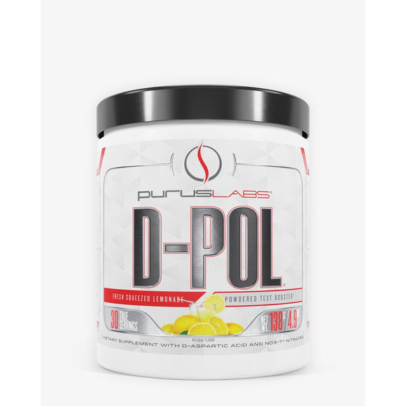 Purus Labs D-POL Powder 30srv Lemonade